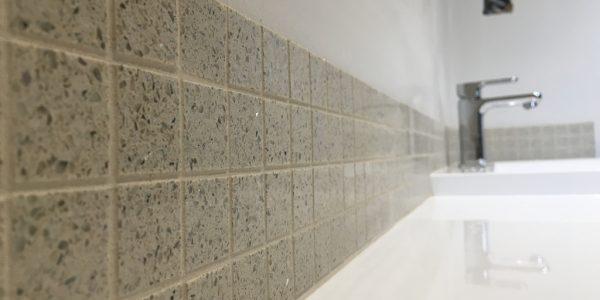 Quartz stardust mosaic's.